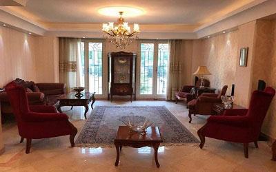 Furnished Apartment in Pasdaran ID 276